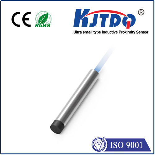 J6.5 Ultra Small Inductive Proximity Sensor Unshielded PNP NPN NO NC Housing With Stainless Steel
